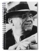 President Franklin Roosevelt Spiral Notebook