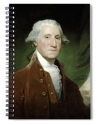 President George Washington  Spiral Notebook