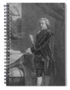 President John Adams - Two Spiral Notebook