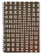 Prickly Poppy Abstract Spiral Notebook