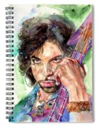 Prince Rogers Nelson Portrait Spiral Notebook