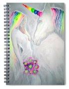 Princess And Unicorn Spiral Notebook