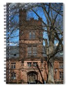 Princeton University East Pyne Hall Tower Spiral Notebook