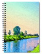 Provence Canal Spiral Notebook