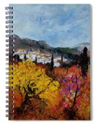 Provence Spiral Notebook