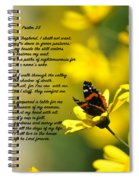 Psalm 23 Spiral Notebook
