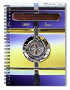 Psychedelic Shelby Ford Mustang Trunk Lid And Badge 4 Spiral Notebook