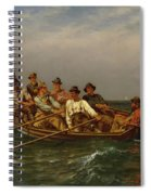 Pull For The Shore Spiral Notebook