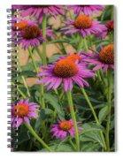 Purple Blooms Spiral Notebook