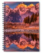 Purple Mountain Majesty Spiral Notebook
