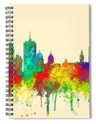 Quebec City Que. Skyline Spiral Notebook