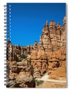 Queens Garden Spiral Notebook