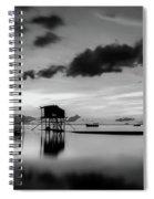 Quiet Beauty Spiral Notebook
