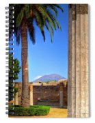 Quiet Vesuvius Spiral Notebook