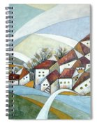 Quiet Village Spiral Notebook
