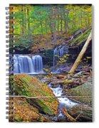 R B Ricketts Falls In Autumn Spiral Notebook