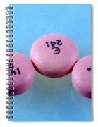 Rabeprazole, 10mg Pill Spiral Notebook