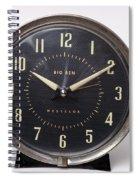Radium Dial On Clock Spiral Notebook