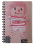 Rag Doll Spiral Notebook