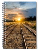Railroad Spiral Notebook