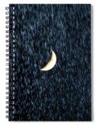 Rain Fall Spiral Notebook