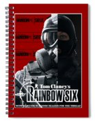 Rainbow Six Spiral Notebook