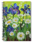 Raining Sunshine Spiral Notebook