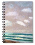 Huge Sky  Spiral Notebook