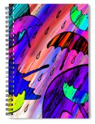 Rainy Day Love Spiral Notebook