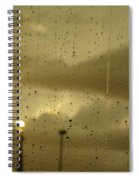 Rainy Days And Mondays Spiral Notebook
