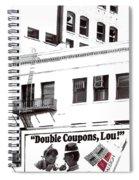 Raleigh Cigarettes Billboard Ad Portland Oregon 1979 Spiral Notebook