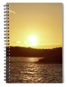 Raumanmeri Sunset Spiral Notebook