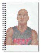 Ray Allen Spiral Notebook