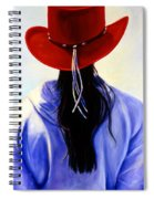 Red Ahead Spiral Notebook