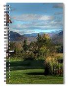Red Barn In Newbury Vermont Spiral Notebook