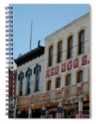 Red Dog Saloon Spiral Notebook