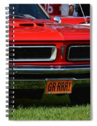 red GTO Spiral Notebook