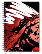 Red Pipe Spiral Notebook