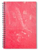 Red Plastic Spiral Notebook