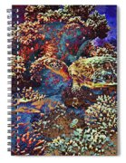 Red Sea Turtle Spiral Notebook