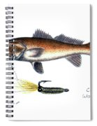 Redfish And Cave's Wobbler Spiral Notebook