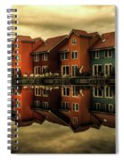 Reflections Of Groningen Spiral Notebook