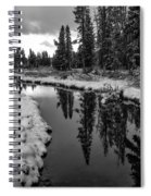 Reflections On Obsidian Creek Spiral Notebook