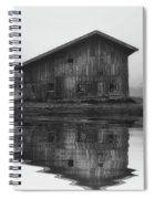 Reflective Morning Spiral Notebook
