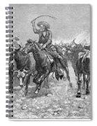 Remington: Cowboys, 1888 Spiral Notebook