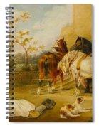 Resting Travelers Spiral Notebook