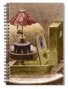 Reynauds Praxinoscope For The Home, 1883 Spiral Notebook