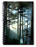 Riding The Warm Currents Spiral Notebook