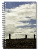 Ring Of Brodgar Spiral Notebook