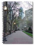 Rittenhouse Square In The Morning Spiral Notebook